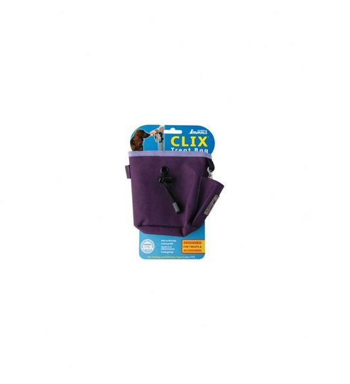 Clix Dog Training Treat Bag - Purple