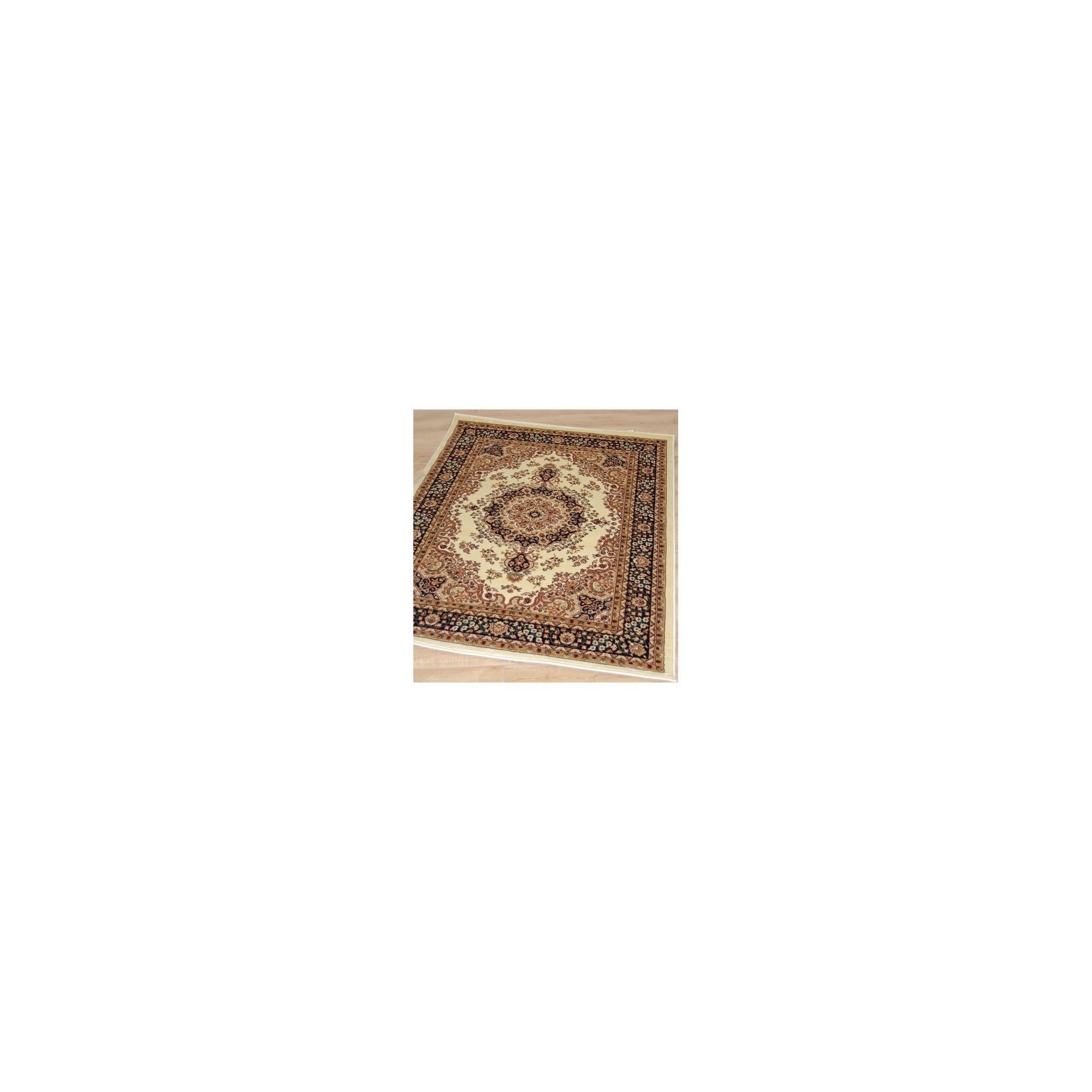 Other Origin Red Classique Ivory / Black Rug - Runner 230cm x 80cm