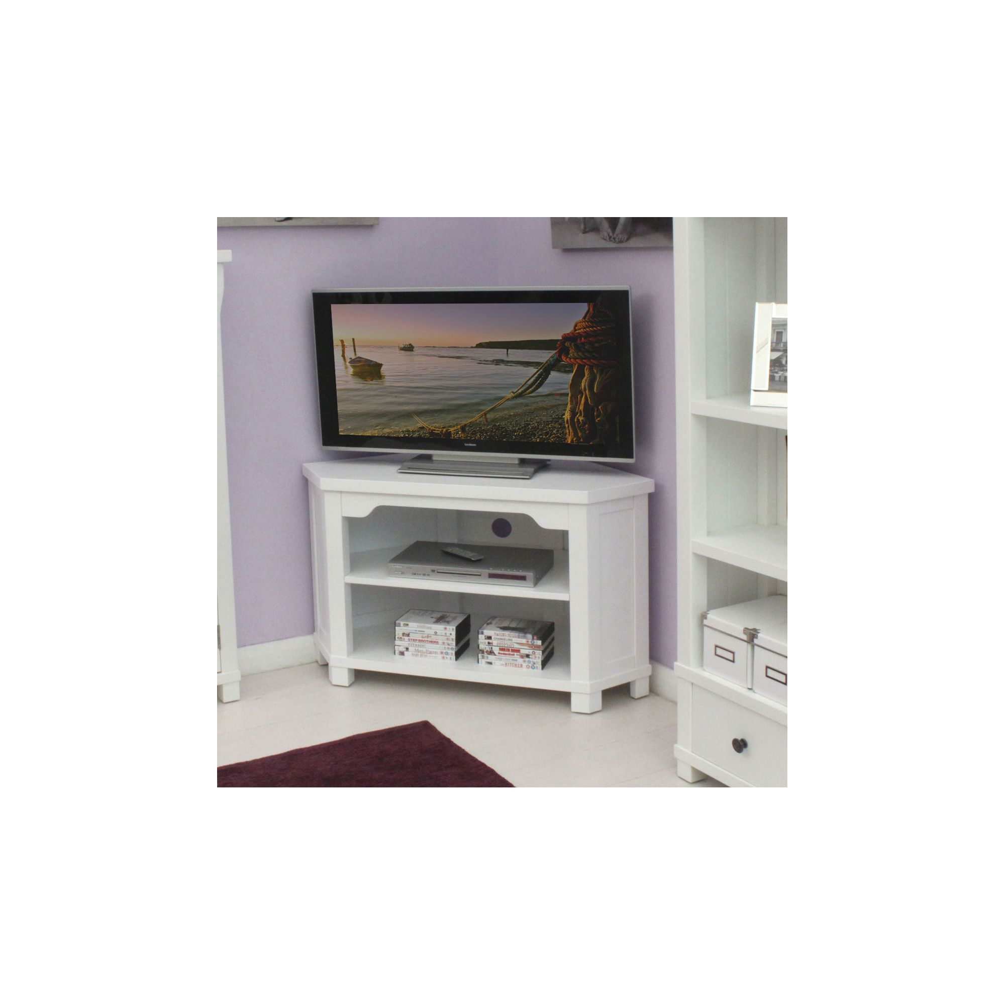 Baumhaus Hampton Corner TV Stand at Tesco Direct