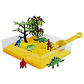 Jacks Dino Sand Scene Playset