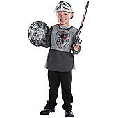 Child Noble Medieval Knight Fancy Dress Costume