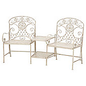 Amelia Ornate Love Seat