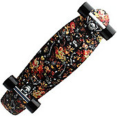 Complete Nickel Graphic Series 2014 Plastic Skateboard - Floral