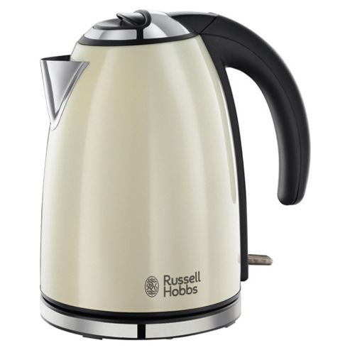 Russell Hobbs Colours Jug Kettle, 1.7L - Cream
