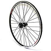 SRAM 506 Race MTB Rear Wheel (6-Bolt Disc 32H 9mm QR on Mach1 MX V Rim, DB S/S Spokes Black)