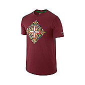 2014-15 Portugal Nike Core Plus T-Shirt (Red) - Red