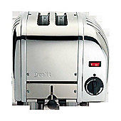 Dualit 20245 2 Slice Polished Stainless Steel Toaster - Silver