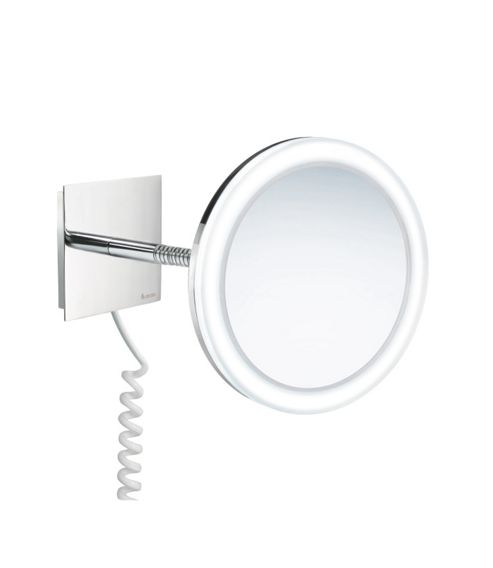 Smedbo Outline Shaving / Make-up Mirror with LED-technology