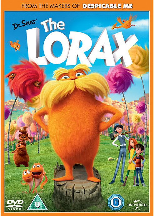 Image result for the lorax uk dvd