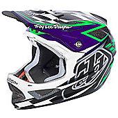 TroyLee D3 Visor Team Black Green