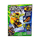 Mega Bloks Teenage Mutant Ninja Turtles Mikey Turbo Skateboard
