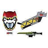 Power Rangers Dino Super Charge Red Ranger Training Set