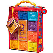 B B One Two Squeeze Soft Blocks