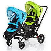 ABC Design Zoom Tandem Pushchair (Rio/Lime)