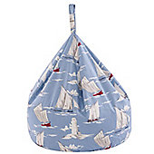 Bean Bag - Sail Boats
