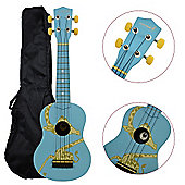 Rocket Soprano Ukulele inc Bag - Giraffe