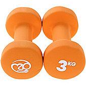 Fitness Mad Neoprene Dumbbells 3KG