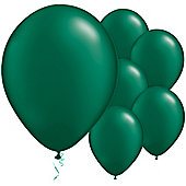 Forest Green Pearl Balloons - 11' Latex