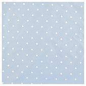 Dotty Blackout Lined Curtains - Blue