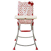 Hello Kitty Highchair Red