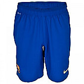 2013-14 Barcelona Away Nike Goalkeeper Shorts (Blue)