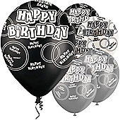 Happy Birthday 12' Latex Balloons (6pk)