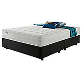 Silentnight Mirapocket 1200 Classic Non Storage King Divan Charcoal no Headboard