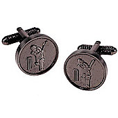 Cricket Medal Novelty Themed Cufflinks