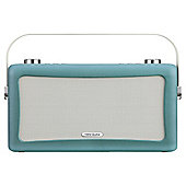 View Quest Hepburn Bluetooth Speaker with DAB+ and FM - Teal