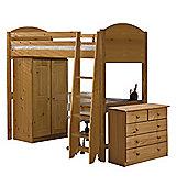 Verona High Sleeper Bed Set 2 Antique
