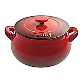 Denby Ceramic Casserole Dish, Cherry Red