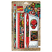 Marvel Retro Small Stationery set
