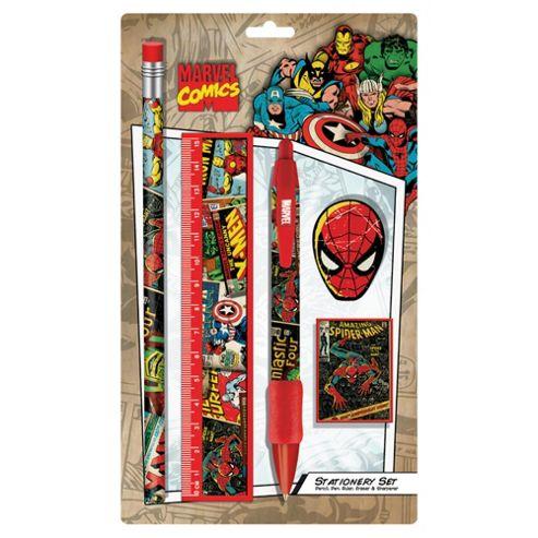 Marvel Retro Small Stationery Set