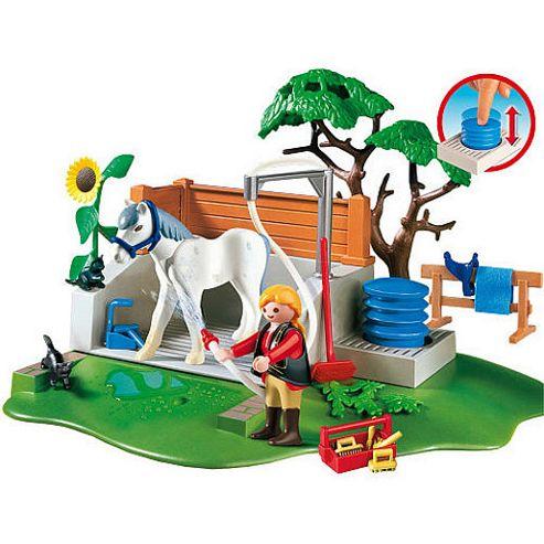 Playmobil 4193 Horse Washing Station