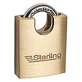 Sterling 60mm Brass Closed Shackle Padlock