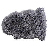 Genuine Sheepskin Single, Grey