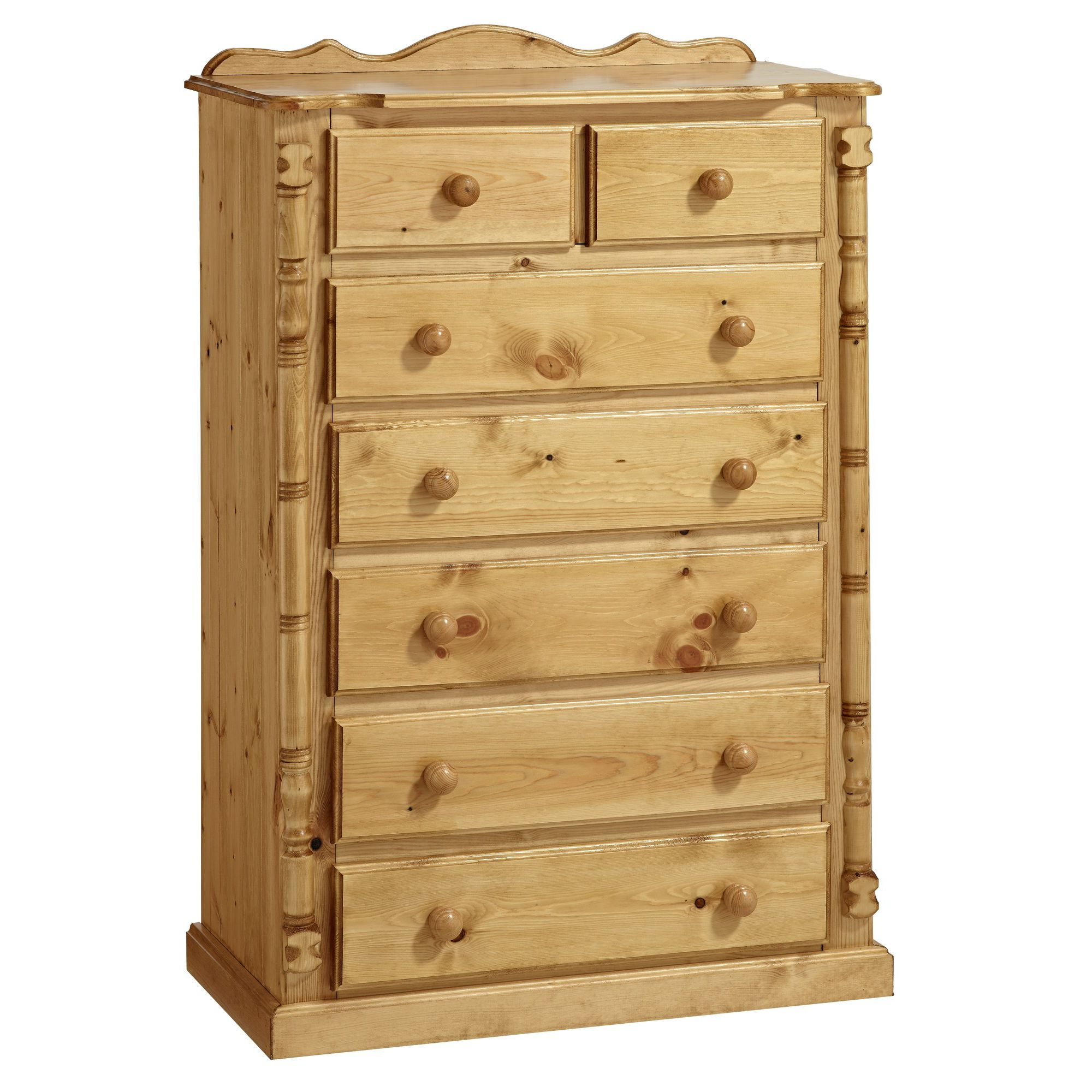 Ideal Furniture Ashley 7 Drawer Chest at Tescos Direct