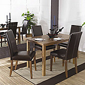 Home Zone Biltern 5 Piece Dining Set - Small