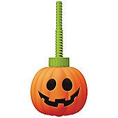 Pumpkin Plastic Sip Cup
