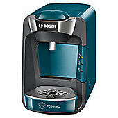 BOSCH Tassimo Suny TAS3205GB Coffee Pod Machine, Blue