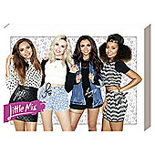 Little Mix Group Canvas, 40x30cm