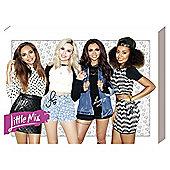 Little Mix Group Canvas, 40x30cm