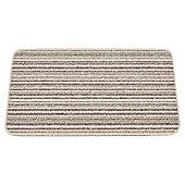Mrs Mat Merino Cream stripe Indoor Mat  45 x 75