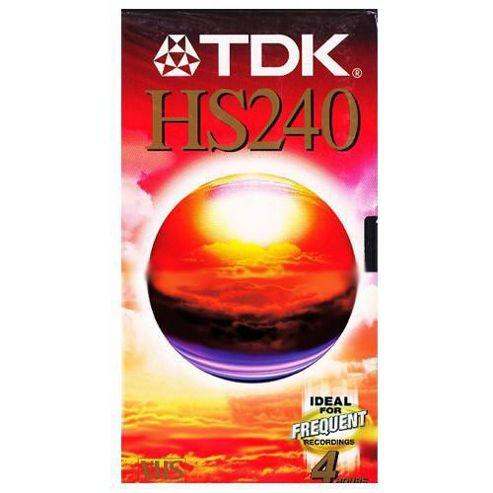 TDK E240 VHS Tape
