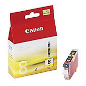 Canon CLI-8Y (Yellow) Ink Cartridge (Blister Pack)