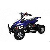 50cc Street Assassin Mini Off-Road Petrol Quad Bike Blue