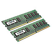 Crucial Technology Crucial Desktop 8GB 667MHz PC2 5300 DDR2 Memory Module