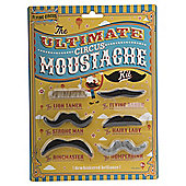 Flying Circus 6-piece Moustache Set
