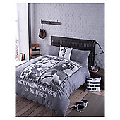 photographica  brand  Mohammed Ali duvet set  Double (cotton rich)