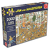 Jan Van Haasteren 2000pce Puzzle The King's Inauguration